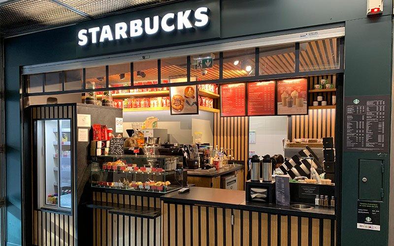 Création boutique Starbucks