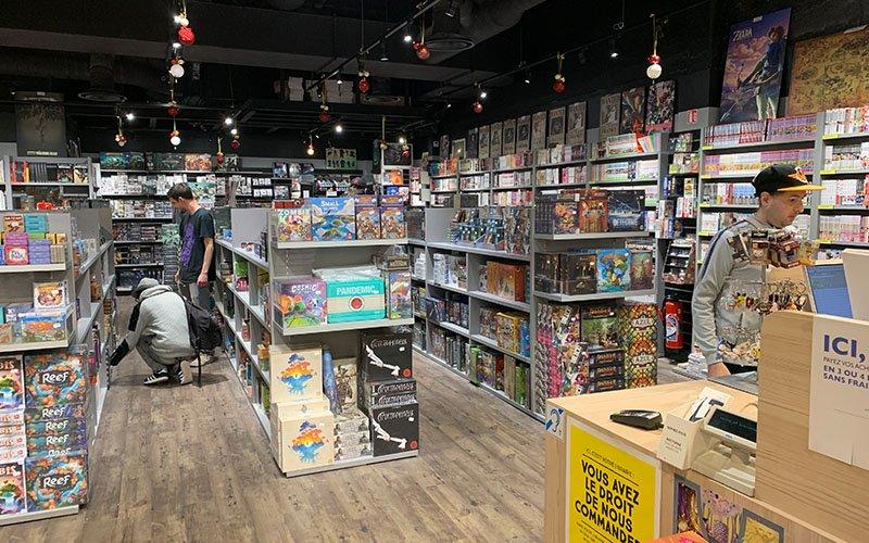 Agencement magasin jouets Cellules grises