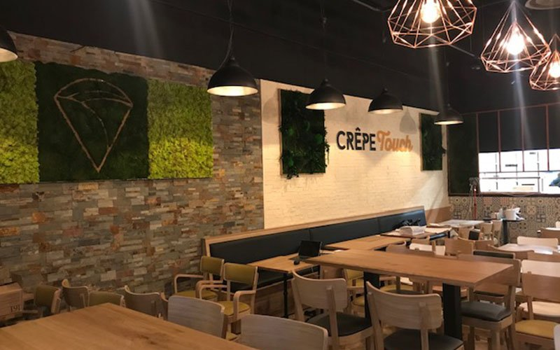 Design Restaurant Crepe Touch