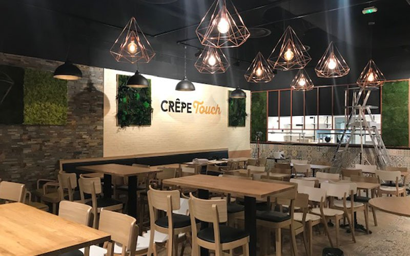 Création Restaurant Crepe Touch