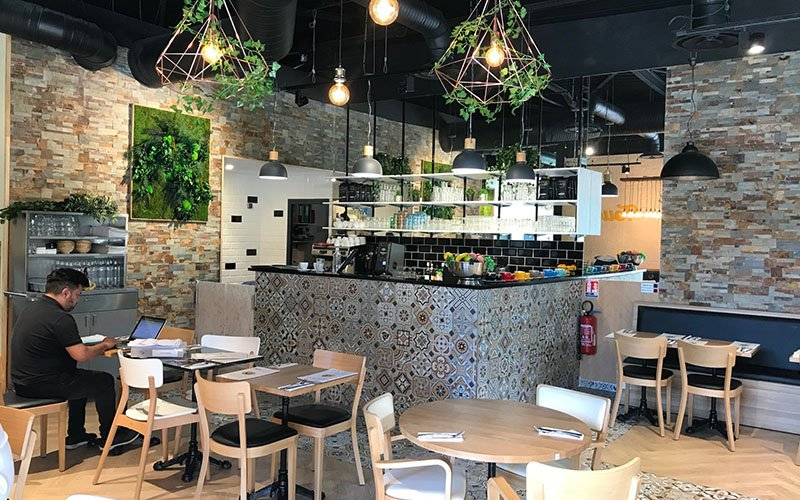 Comptoir restaurant crepe touch
