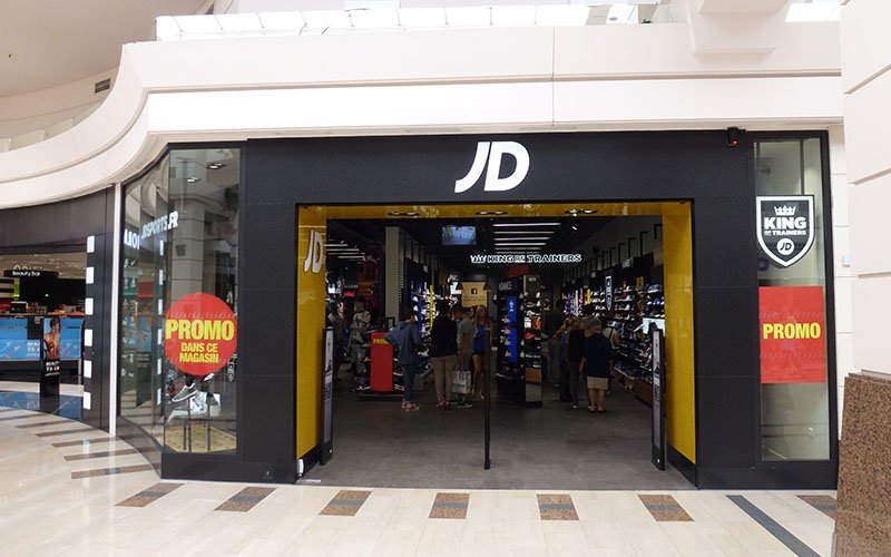 Enseigne magasin JD Sports
