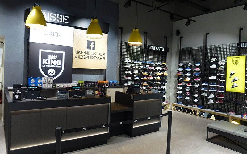 Caisse magasin JD Sports