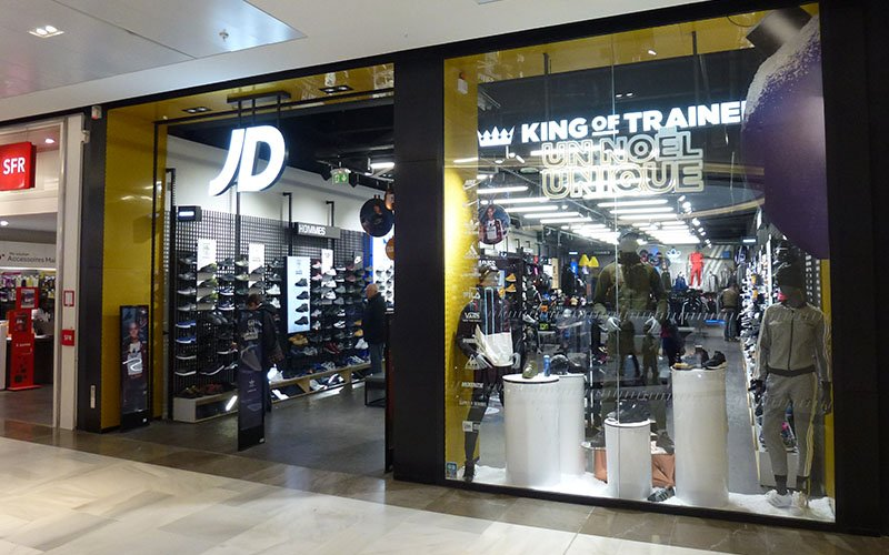 Devanture magasin JD Sports