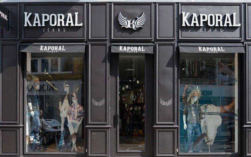 Façade magasin prêt-à-porter Kaporal Jeans