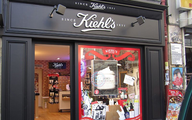 Façade magasin Kiehl's