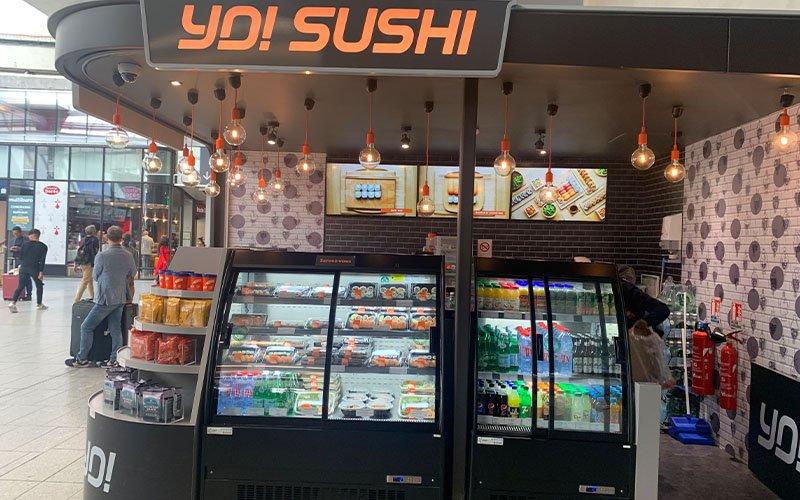 Création Corner restaurant sushi