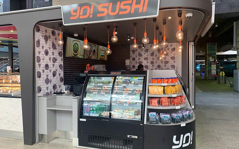 Kiosque restaurant Sushi