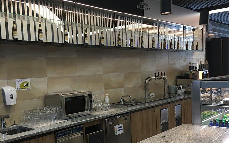 Agencement restaurant et cuisine Lux Brevery
