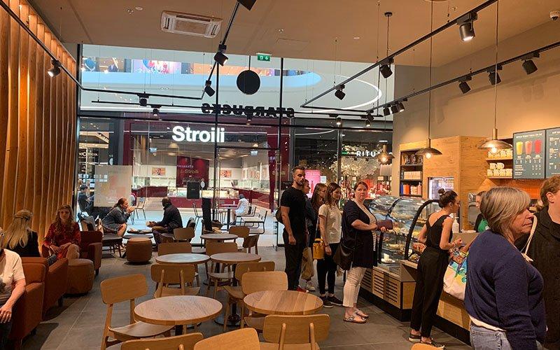 Agencement Restaurant Café Starbuck