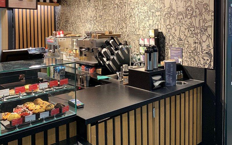 Agencement Café Starbuck