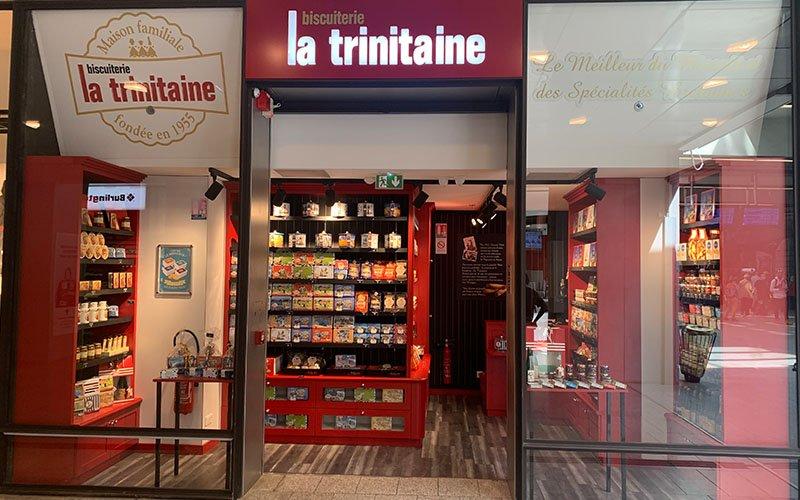 Enseigne magasin la trinitaine