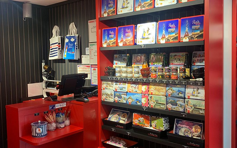 Agencement magasin Trinitaine