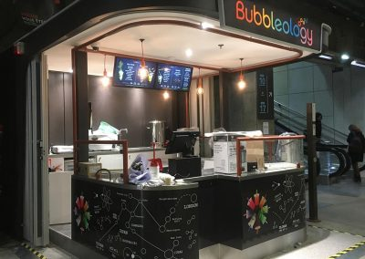 Kiosque Bubbleology